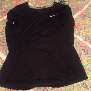 Nike long sleeve training top